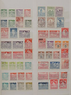 YS-H140 DENMARK - Lot, Horses, Red Cross, Old Stamps Used