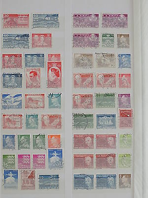 YS-H146 DENMARK - Lot, Old Stamps Used