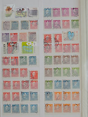 YS-H167 DENMARK - Lot, Old Stamps Used