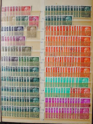 YS-H263 SPAIN - Selection, Great Lot Of Ordinary Old Stamps Used