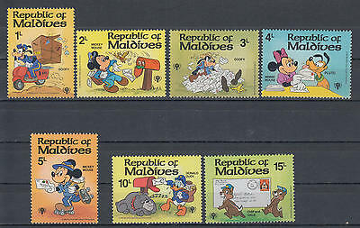 YS-H436 WALT DISNEY - Maldives Ind, Iyc, 1979, Mickey Mouse, Great Stamps MNH