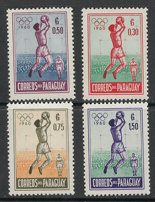 YS-H461 OLYMPIC GAMES - Paraguay, Volleyball, 1960, Sport, Great Stamps MNH