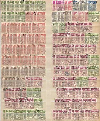YS-H518 DENMARK - Lot, Old Stamps Used