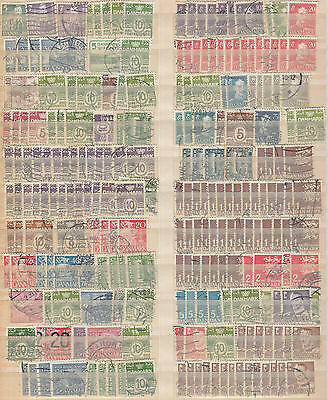 YS-H524 DENMARK - Lot, Old Stamps Used