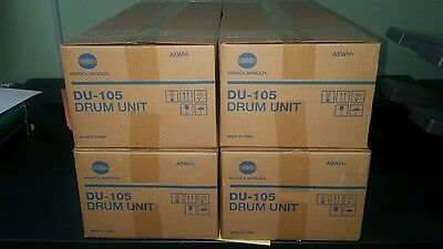 4 piece drum set..DU-105 .drum units for bizhub press C1060/C1070
