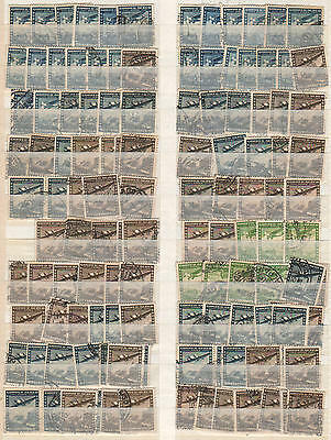 YS-H579 AVIATION - Chile, Airplanes, Old Stamps Used