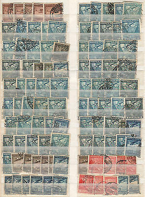 YS-H580 AVIATION - Chile, Airplanes, Old Stamps Used