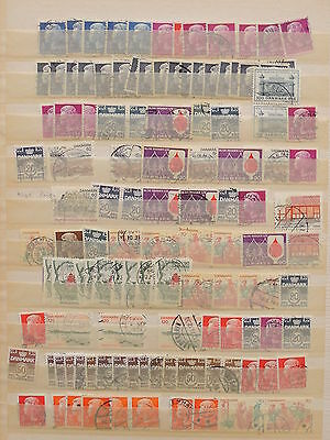 YS-H660 DENMARK - Lot, Definitives Ordinary Old Stamps Used
