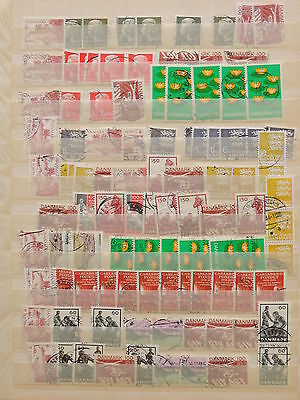 YS-H663 DENMARK - Lot, Great Selection Of Stamps Used