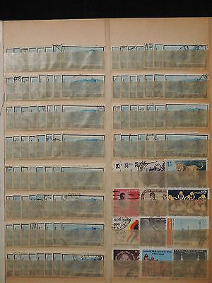 YS-H714 INDIA IND - Lot, Landscape, Views, Old Stamps Used