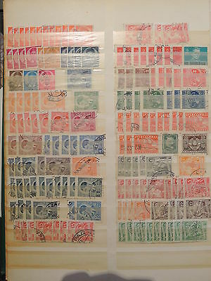 YS-I034 YUGOSLAVIA - Lot, Definitives, Old Stamps Used