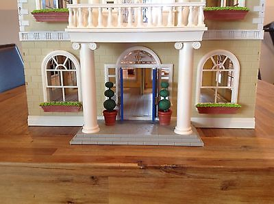 sylvanian familes grand hotel complete with furniture and families