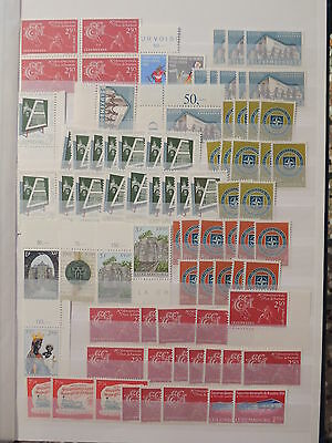 YS-I070 LUXEMBOURG - Lot, Buildings, Great Stamps MNH
