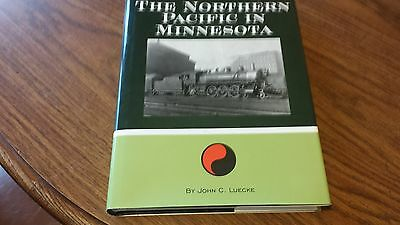 Northern Pacific In Minnesota Railroad Signed Book Double Sided Map 449 Pages