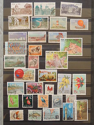 YS-I256 SOUTH AFRICA IND - Lot, Buildings, Views Wild Animals Flowers Birds Used