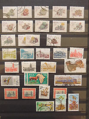 YS-I258 SOUTH AFRICA IND - Lot, Flowers, Monuments, Great Stamps Used