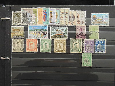 YS-I356 ANGOLA - Colombia, Great Stamps MIXED