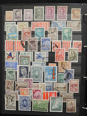 YS-I357 ARGENTINA - Lot, Great Lot Of Stamps Used