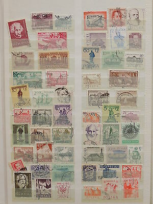 YS-I516 POLAND - Lot, Buildings, Monuments, Ships Used