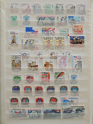 YS-I618 CZECHOSLOVAKIA - Czech Republic, Monuments, Cats, Coats Of Arms MIXED