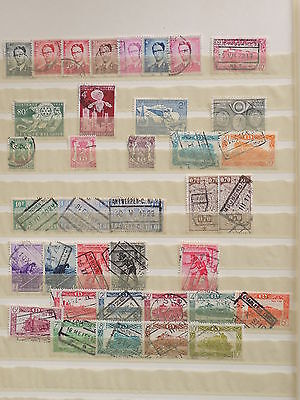 YS-I635 BELGIUM - Lot, Trains, Great Old Stamps Used