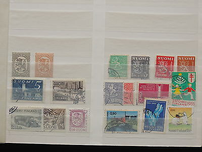 YS-I709 FINLAND - Lot, Great Stamps, Coats Of Arms MIXED