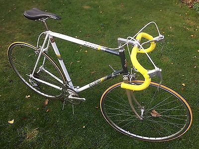 Raleigh Equipe, classic steel frame road bike 1980s