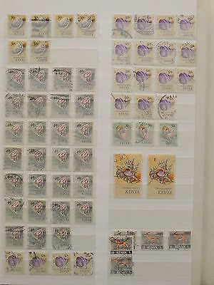 YS-I737 SHELLS - Kenya, Wild Animals, Great Selection Of Stamps Used