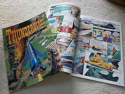 "Thunderbirds ""In Action"" & ""Shock Wave""  Comic Albums. No. 5 & 6 - 1992"