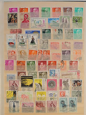 YS-J090 SPAIN - Lot, Old Stamps USED