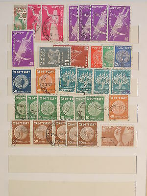 YS-J136 ISRAEL - Selection, Old Stamps USED