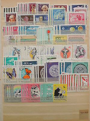 YS-J181 HUNGARY - Transportation, Lot Of Old Stamps USED