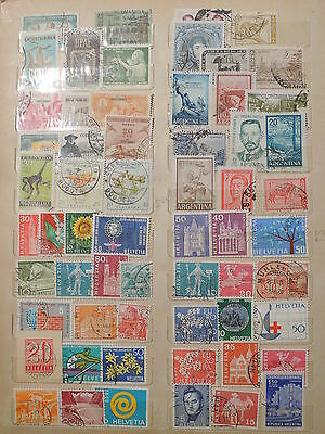 YS-J235 ARGENTINA - Colombia, Lot Of Old Stamps USED