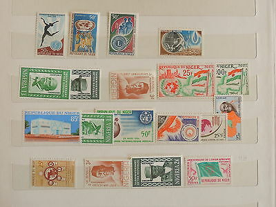 YS-J292 NIGERIA IND - Selection, Great Stamps MH