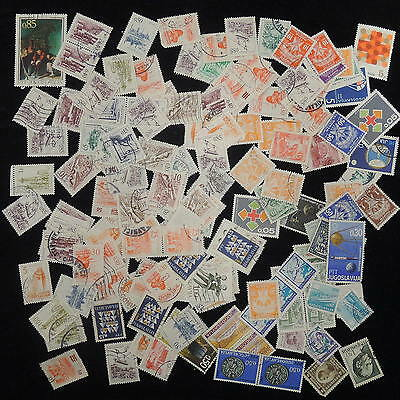 YS-J346 YUGOSLAVIA - Red Cross, Accumulation Of Great Stamps USED