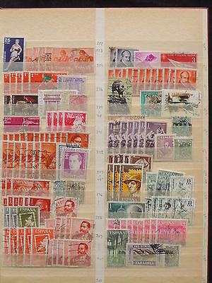 YS-J460 SPAIN - Accumulation, Lot Of Old Stamps USED