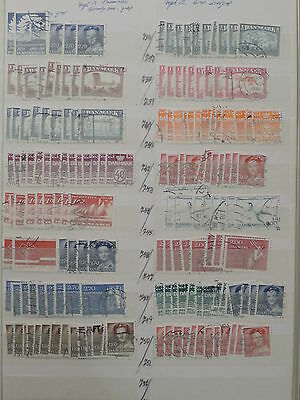 YS-J462 DENMARK - Accumulation, Lot Of Old Stamps USED
