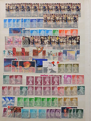 YS-J517 GB COM. '90 - Accumulation, Lot Of Great Stamps USED
