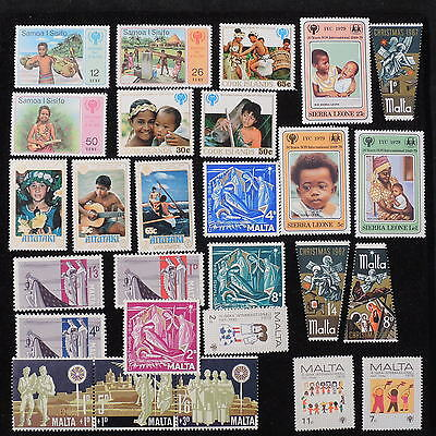 YS-J948 MALTA IND - Cook Islands Ind, International Year Of The Child MNH