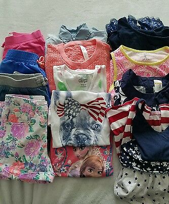 Girls Lot of clothes 7/8 shorts, tops, and dresses