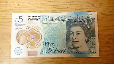 AC24 £5 Five Pound Note Print Errors Misprints 5 errors misprinted collectable