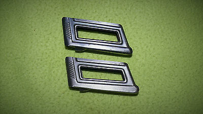 """Relic From Wwi & Wwii Mannlicher M95 Clips Marked """" W """" / Two Clips"""