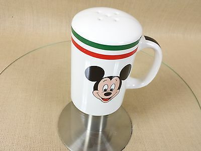 Vintage Mickey Mouse Parmesan Cheese Shaker Great For Homemade Pizza Making