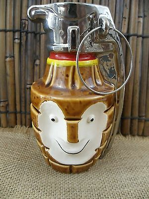 Tiki Bob BoBomb Tiki Farm Big Toe Grenade Mug Limited Edition #18 Signed Box NEW