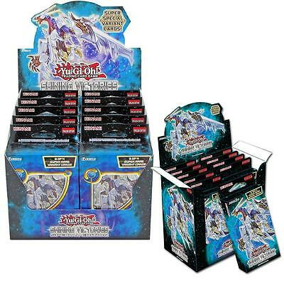 NEW Yu-Gi-Oh Shining Victories Special Edition Display Box 10pk Konami CHOP