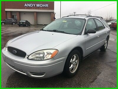 2004 Ford Taurus SE Used 04 Ford Taurus SE 3L V6 Auto Wagon Silver Gray Cloth Clean Cheap Low Miles