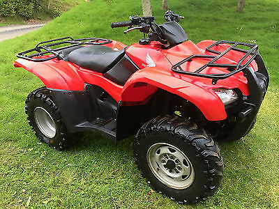 Honda Trx 420 2Wd Farm Quad Bike Atv - Smallholding - No Vat