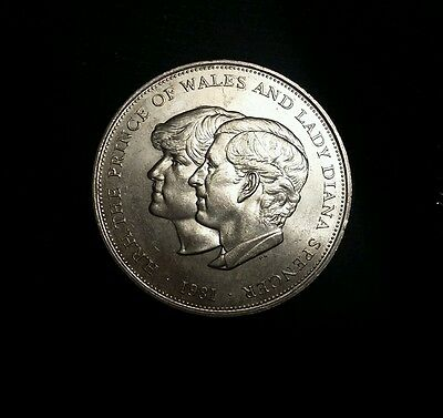 1 Prince of Wales and Princess Diana Spencer Limited Celebration Old Coins 1981