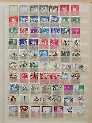 YS-K285 SWEDEN - Lot, All Different Stamps USED