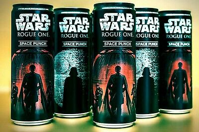 Star Wars Space Punch Rogue One Drink 4x 355ml